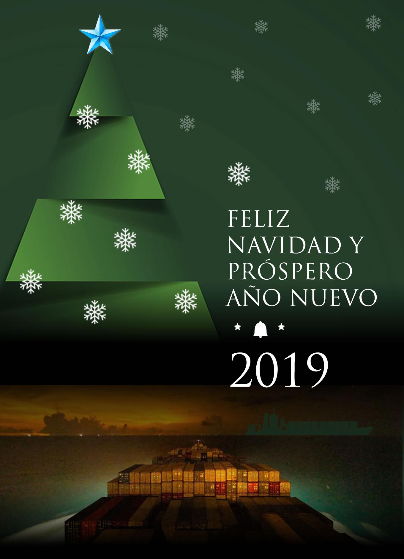 Felices Fiestas les desea MundoMaritimo.